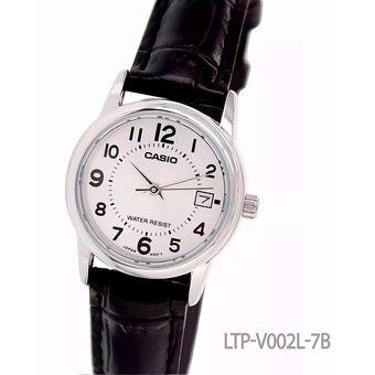4ab4be0a8563 Compra Reloj Casio LTP-V002L - 7B - Negro Con Plateado online ...