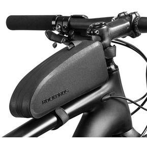ROCKBROS Bicicleta Ciclismo Superior Tubo Frontal Marco Bolsa - Negro b7a6e3254232