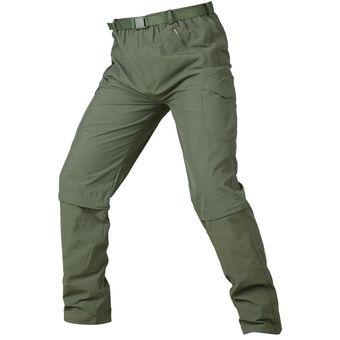 Pantalones Desmontables Secado Rapido Transpirables Para Hombre Verde Linio Peru Ge582fa19izanlpe
