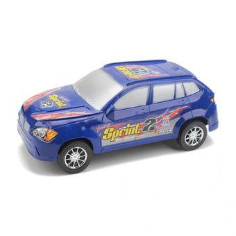 Compra Carro Vehiculo De Juguete Plastico Sprint Azul Online
