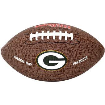 c0be3c46320d1 Compra Balón Juvenil NFL Futbol Americano Team Green Bay PVC Wilson ...