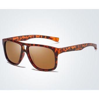 Mujeres Polarizadas Leopardo Estampado Sol Para Y Gafas Hombres Moda De fY6yb7gv