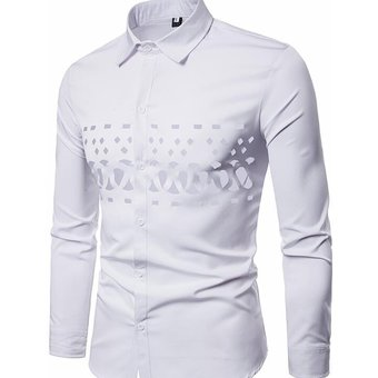 Compra Camisa Mangas Largas Generico Hombre-Blanco online  c5d1be8e1a485