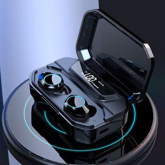 Bluetooth 5.0 Auriculares Bluetooth inalámbricos binaurales impermeables
