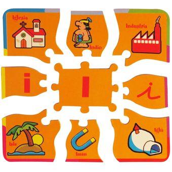 Compra Rompecabezas Pudu Aprendiendo Las Vocales Puzzle-Multicolor ... 800a77eec661