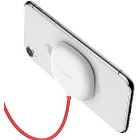 8fe80f3df6a Cargador Inalambrico Portátil con Succion Baseus QI Wireless Iphone XS Max  XR