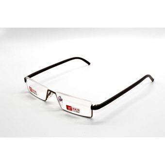 f67f8dc88e Compra Hombres marrón con gafas lentes de lectura flexibles +3.5 ...