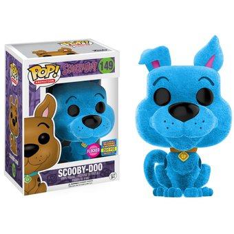 2017 Blue Peludo Sdcc Scooby Funko Pop Flocked Doo Saturday K1cTJl3F