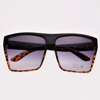 d892c4e76d Gafas De Sol Retro Cuadrado Marco Plástico Oversized Para Hombre ...