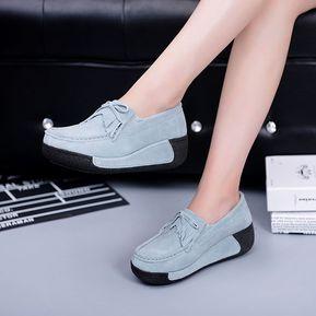 d3ad9b7a6c0 Zapatos Planos Respirables De Mujer De Verano Zapatos Planos De Mujer