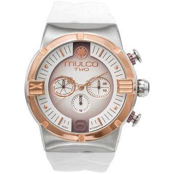 f4c22e463b88 Compra Reloj Mulco M10 Dome Ladies MW5-3685-013 Para Dama-Blanco ...