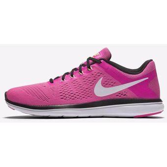 84f699fb312 Compra Tenis Nike Flex 2016 830751-600 para Mujer-Rosa online ...