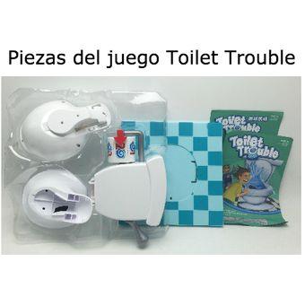 Juego Bano Loco Generico Toilet Trouble
