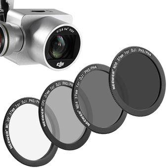 4 Nd4 filtro filtro gris para robot DJI Phantom 3