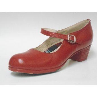 2c97f660 Compra Calzado Para Baile Folklorico O Flamenco Est 125-Rojo online ...