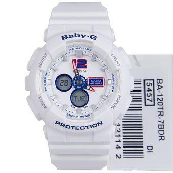 a25f5c8d5ab9 Compra Reloj Casio Deportivo Baby G BA-120-7B Blanco Para Mujer ...