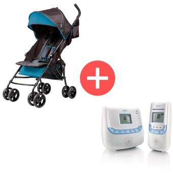 2e319dbb16ea Coche Paseador Multiposiciones Summer Infant S32643 + Monitor Econtrol Plus  Nuk