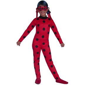 8cab8fdc5 Disfraz Miraculous Lady Bug Ref 1550 Niña