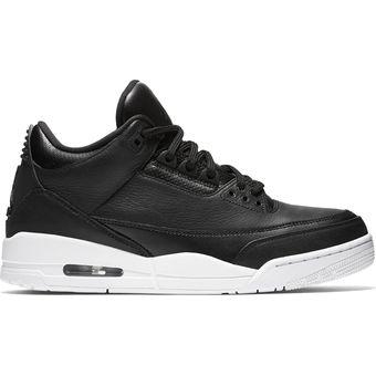8e9b677f4ba53 Compra Zapatos Deportivos Hombre Nike Air Jordan III-Negro online ...