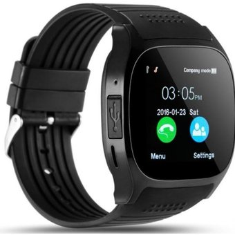 deabfd3836d2 Agotado Smartwatch Reloj T8 Camara Bluetooth SIM SD Para Android Y Iphone