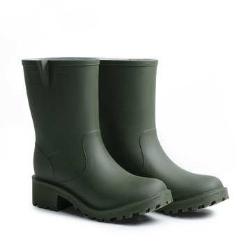 Mujer Compra Impermeables Lluvia Michelle Para De Botas Verde Idecal  nOwrqCYO 69cc634d068