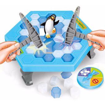 Romper El Hielo Guardar El Pinguino Juego De Mesa Bebe Juguete De Aprendizaje Educacion Juguetes Para Ninos Pasatiempos Ninos Divertido Divertido