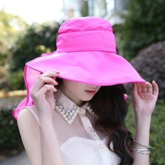 Compra Sombrero De Playa Uv De Verano Sombrero De Sol Sombreros ... f034e51ee22