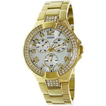 Compra Reloj Guess Para Dama Color Dorado G13537L online  fd087de4cabb