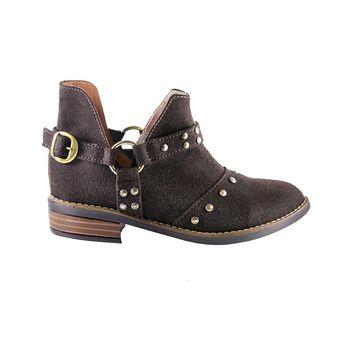 a8cbb7c5 Zapato Tipo Botin Taches - Cafe