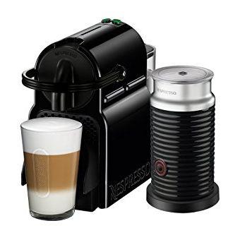 Cafetera Nespresso Inissia Express Con Aeroccino A3D40-Negro