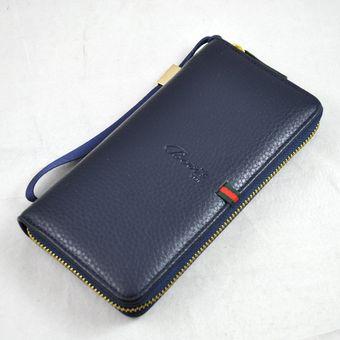 Agotado Cartera Para Caballero Billetera Multifuncional Con Tarjetero -azul fd3dd36d930