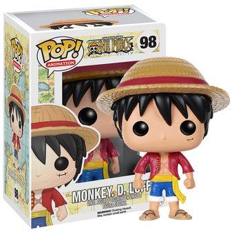 Luffy Sombrero De Paja One Piece Funko Pop Anime One Piece Monkey Envio  Gratis INCLUYE BOLSA 4e79ffc5aab
