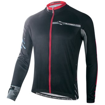 Agotado Camiseta de Ciclismo manga larga Performance line FORZA SUAREZ negro 08c97329306