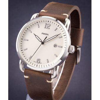 7a743967c4a8 Compra Reloj Fossil The Commuter FS5275 Correa De Cuero - Marrón ...