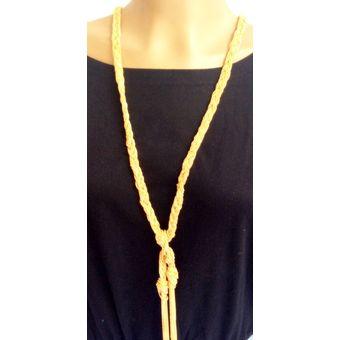 323327c56807 Compra Collar Largo WOW! Dorado online