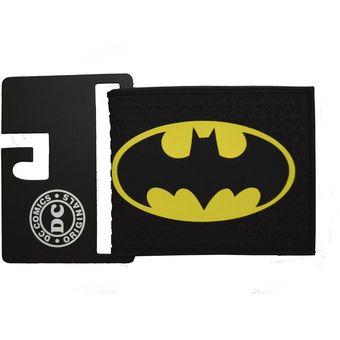 10efe830a Compra Billetera Hombre Dc Comics Batman Sencillera Cierre- Negro Y ...