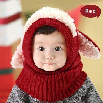 dca64dbe70397 Compra Gorro De Invierno Tejido Para Bebé-Rojo online