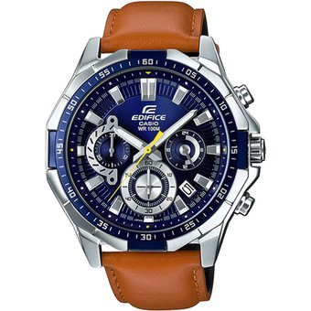 b0ee099ab253 Compra Reloj Casio Edifice EFR-554L-2AV Analógico Hombre - Marrón Y ...