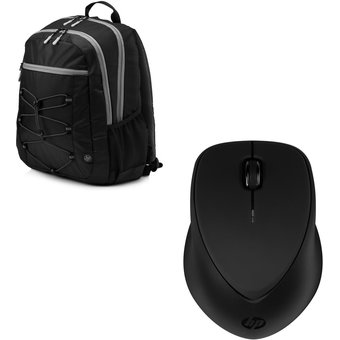 "Combo Mochila para Laptop de 15.6"" HP + HP X4000b Bluetooth Mouse - Negro"