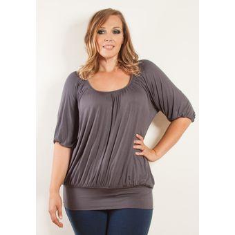 12 Irregular Top Casual Camisa Plus 5xl Mujer Hem Suelta L Tamaño Blusa OqpEP