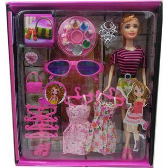 Y Set Atinil Barbie Pinturitas Lentes Accesorios Compra Muñeca xqHTFwYn8