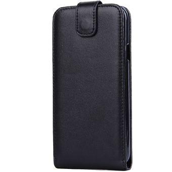 16cd913a18c Vertical Flip Magnetic Snap - Funda De Cuero Para Samsung Galaxy E5 (negro)