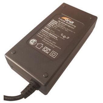 Fuente Switching Plastica Gralf 12v 8a Plug 5.5 Certificado