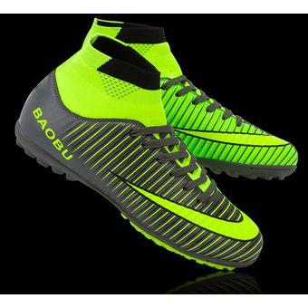 Compra Zapatillas Hombre De Fútbol Con Clavo Corto Y Colores - Negro ... bfc570098ce2d