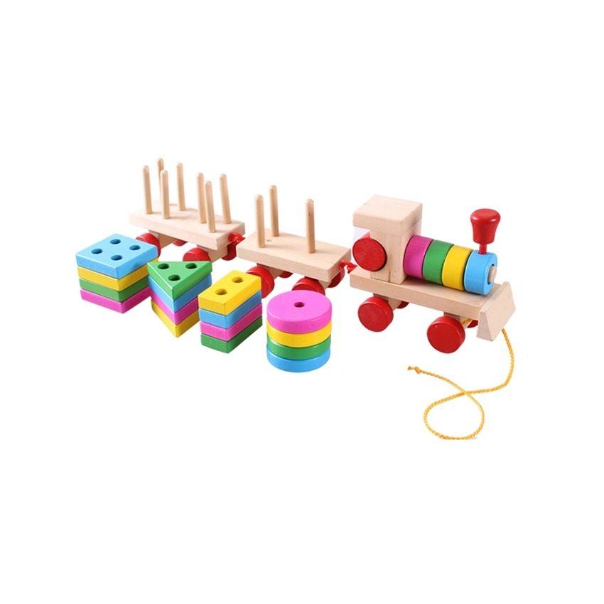 Tren De Madera Forma Bloques De Construcción De Juguete Baby Early Learning Capacitación Toy SU015TB19DG5QLMX wehLsrjG wehLsrjG tm8PjLjB
