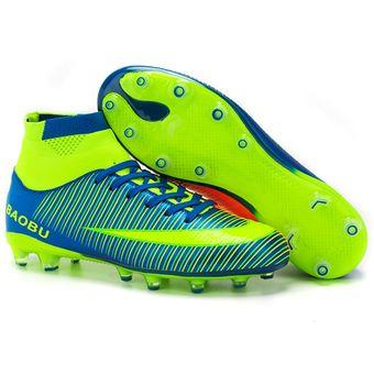 Compra Zapatillas Hombre De Fútbol Con Clavo Corto Y Colores - Azul ... fde05464ee17b