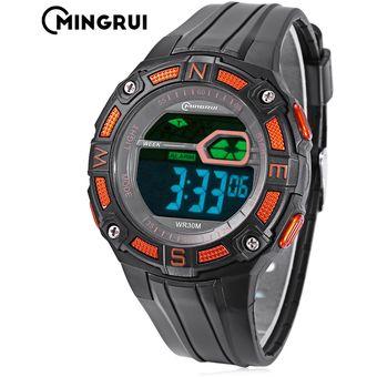 58e1ed9b861d Compra MINGRUI MR - 8581103 Reloj Digital Para Niños Digital 3ATM ...