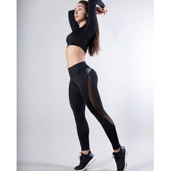 Patchwork Para Mujer Pantalones Deportivos Tipo Leggings Yoga Gimn Lun Linio Mexico Ge598sp1eaovvlmx