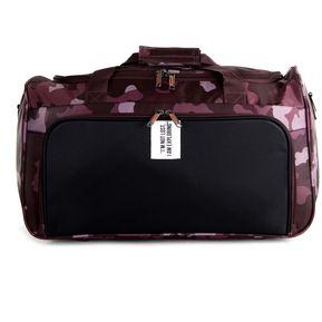7f4d157f2 Equipaje Cloe duffle bag con estampado camuflajeado - rojo