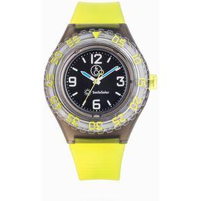 6ba0dea2583c Reloj Q Q RP016J002Y Bateria Solar QYQ Para Caballero- Verde Negro